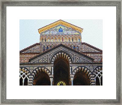 Amalfi Cathedral Italy  Framed Print