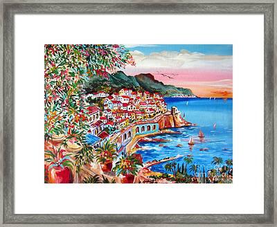 Amalfi Coast Framed Print