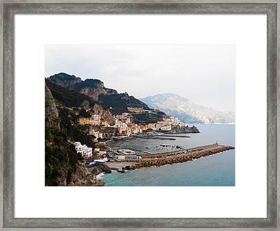 Amalfi Italy Framed Print by Bill Cannon