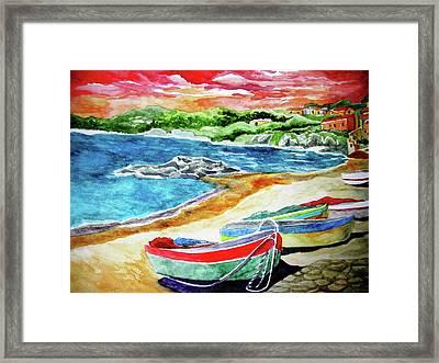 Amalfi Framed Print