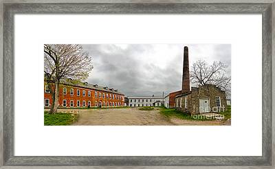 Amana Colonies Old Brewery - 02 Framed Print by Gregory Dyer