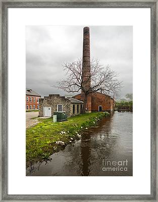 Amana Colonies Old Brewery - 03 Framed Print by Gregory Dyer