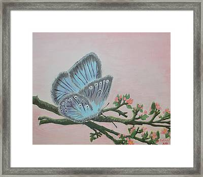 Amandas Blue Dream Framed Print