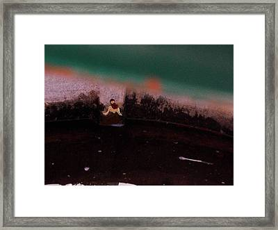 Framed Print featuring the photograph Amanda's Dusk by Deborah Moen