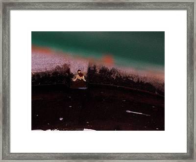 Amanda's Dusk Framed Print