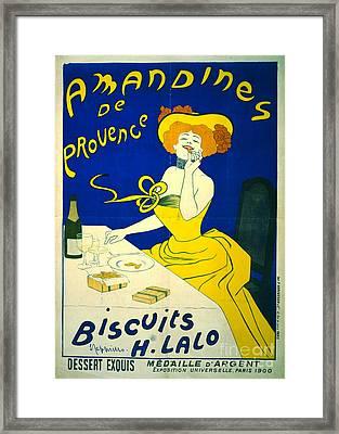 Amandines De Provence 1900 Framed Print by Padre Art