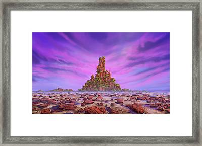 Amarati Framed Print by Cassiopeia Art