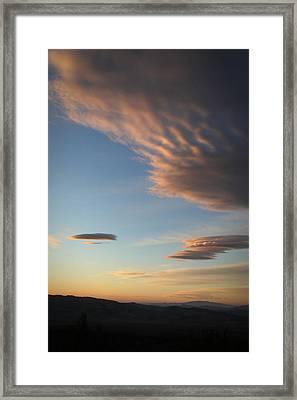 Amargosa Aliens Framed Print