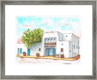 Amargosa Opera House - Nevada Framed Print