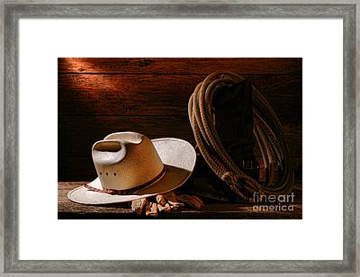 Amarillo By Morning Framed Print by Olivier Le Queinec