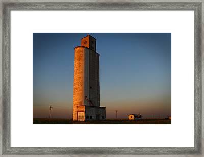 Amarillo Highrise Framed Print