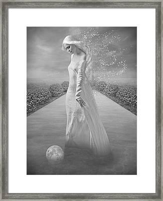 Amarta Framed Print by Alexandra  Marrero