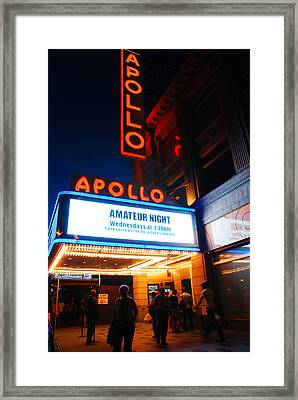 Amateur Night Framed Print by James Kirkikis