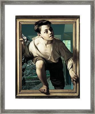 Framed Print featuring the photograph Amazement by Allen Beilschmidt
