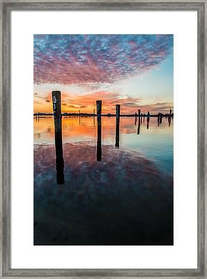 Amazing Bay Framed Print