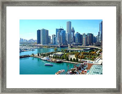 Amazing Chicago Framed Print