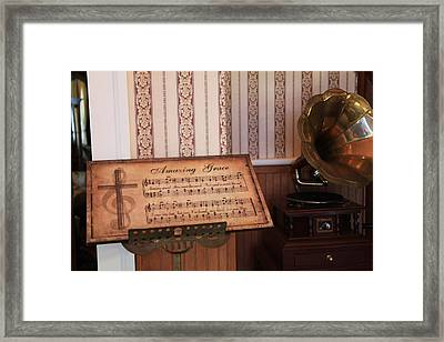 Amazing Grace Framed Print by Toni Hopper