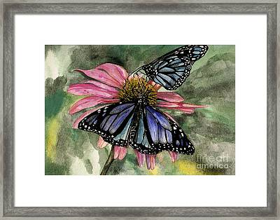 Amazing Framed Print by Laneea Tolley