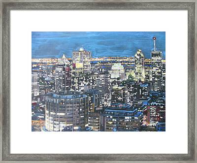Amazing Montreal Framed Print by Vikram Singh