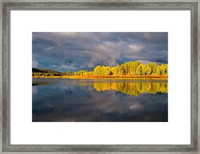 Amazing Morning Framed Print by Joseph Rossbach