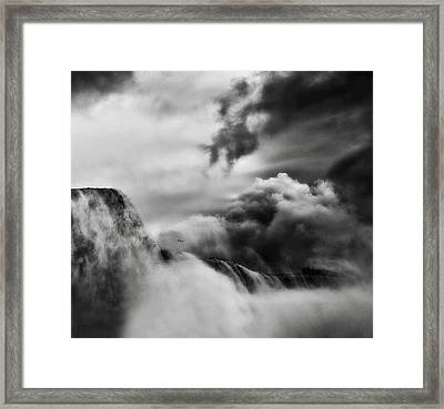 Amazing Power And Beauty Framed Print