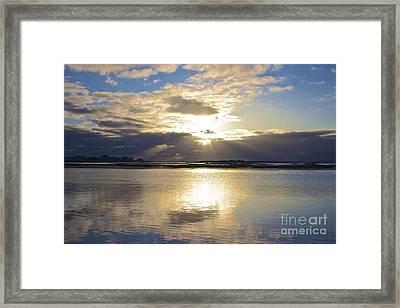 Amazing Sunrise Framed Print by Amazing Jules