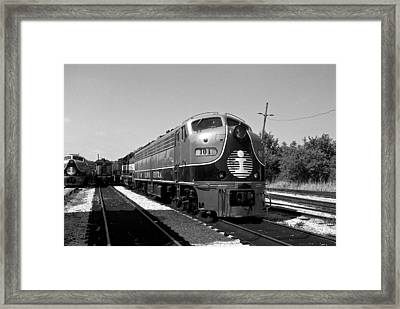 Amazing Trainyard Framed Print