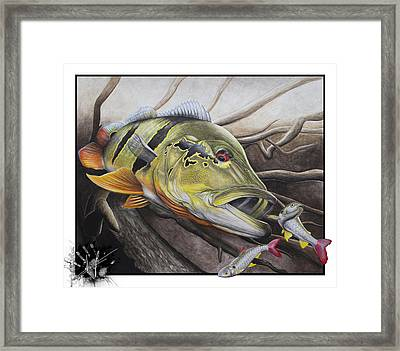 Amazon Assault Framed Print by Nick Laferriere