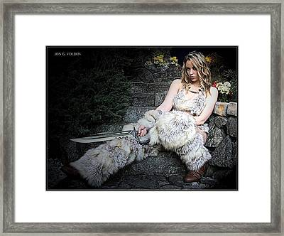 Amazon At Rest Framed Print