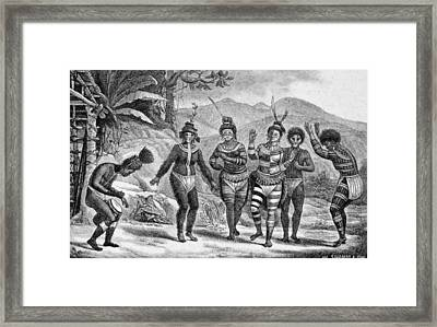 Amazon Native Indians, 1816-31 Framed Print by Granger