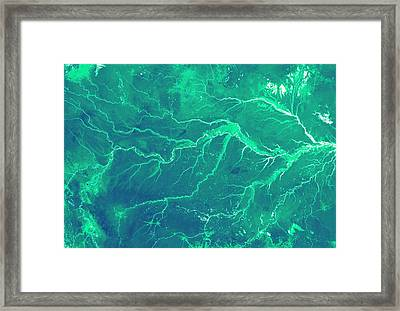 Amazon Rainforest Framed Print by Nasa Earth Observatory