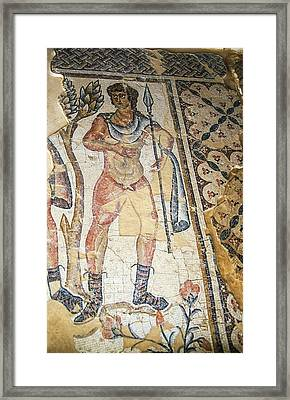Amazons Hunting Mosaic Framed Print by Photostock-israel