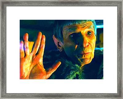 Ambassador Spock Framed Print