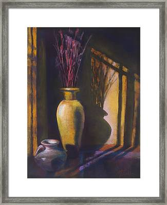 Amber Afternoon Framed Print