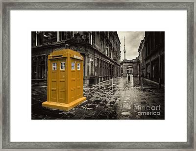 Amber Box  Framed Print