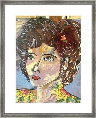 Amber Framed Print by Karen Carnow