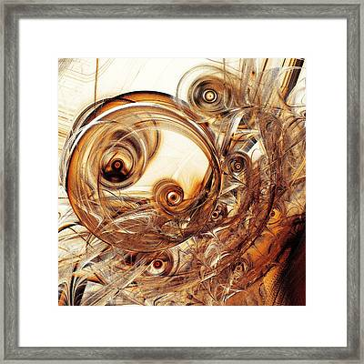 Amber Magic Framed Print by Anastasiya Malakhova
