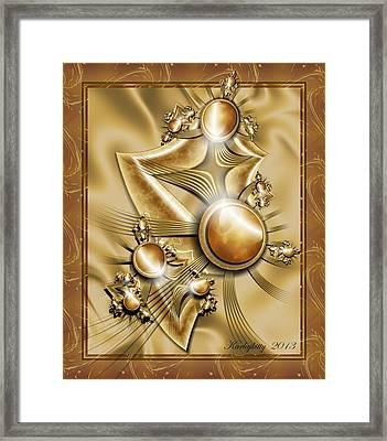 Amber Riches Framed Print