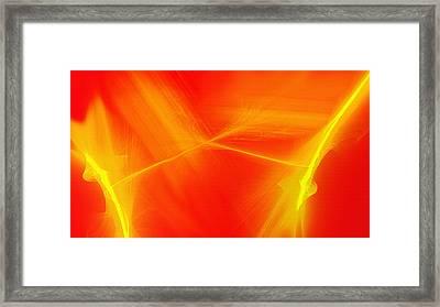 Amber Spackle Framed Print by Steve Ohlsen