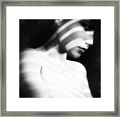 Amber Framed Print by Taylan Apukovska
