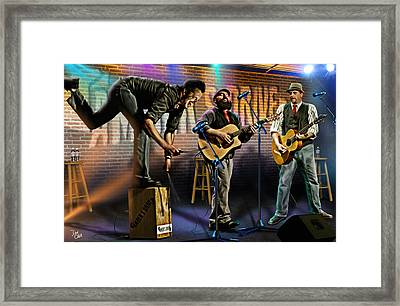 Amber's Drive Framed Print by Don Olea