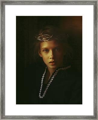 Ambers Embers Framed Print