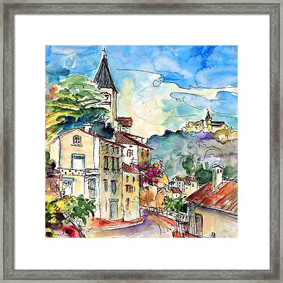 Ambialet 01 Framed Print by Miki De Goodaboom