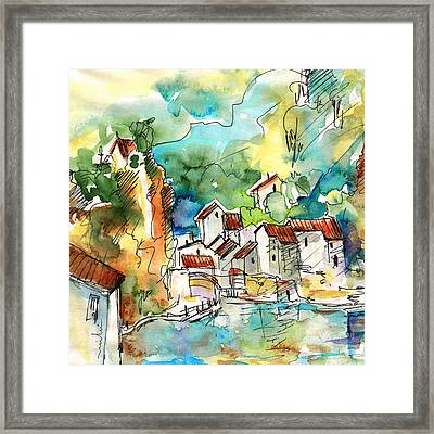 Ambialet 02 Framed Print by Miki De Goodaboom