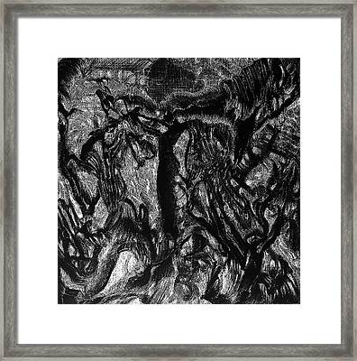 Ambiance In Elevation Mysterium Framed Print