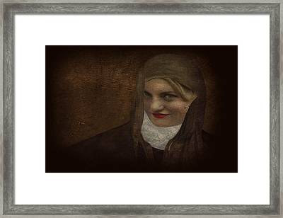 Ambiguity2 Framed Print by Jeff Burgess
