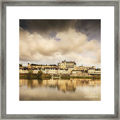 Amboise Loire Valley France Framed Print by Colin and Linda McKie
