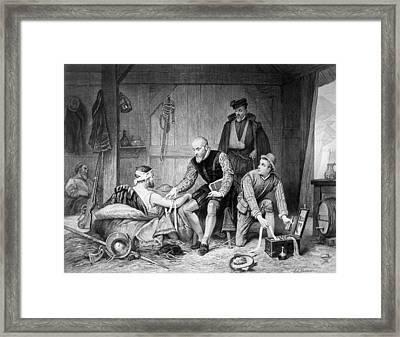 Ambroise Pare (c1510-1590) Framed Print