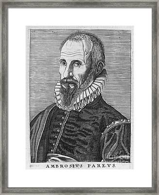 Ambrose Pare (1517?-1590) Framed Print by Granger