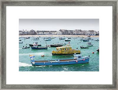Ambulance Boat Framed Print by Ashley Cooper